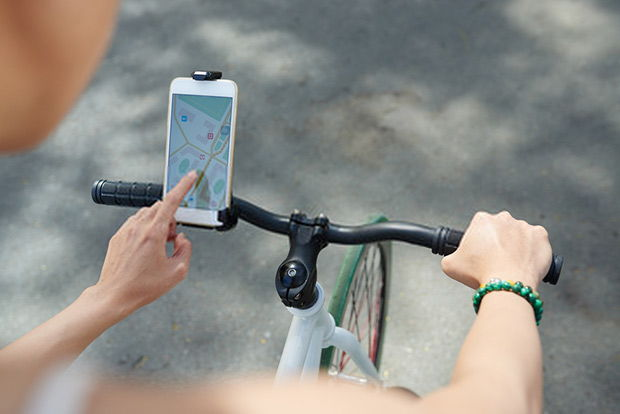 You can use smartphones to plan your rides